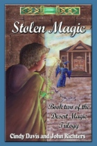 Stolen Magic by Cindy Davis and John Richters book cover