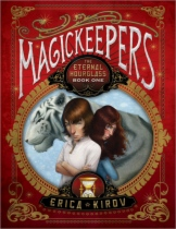 Magickeepers: The Eternal Hourglass by Erica Kirov and Eric Fortune book cover