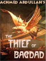 The Thief of Bagdad by Achmed Abdullah book cover