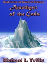 Amethyst of the Gods by Richard S. Tuttle book cover