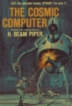 The Cosmic Computer book cover