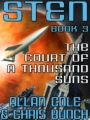 The Court of a Thousand Suns: Sten #3 book cover