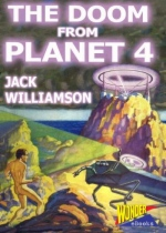The Doom From Planet 4 by Jack Williamson book cover