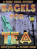 Bagels for Tea by Rayanne Moore and Serita Stevens book cover