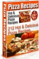 212 Hot And Delicious Pizza Recipes book cover