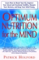Optimum Nutrition for the Mind book cover
